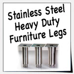 Stainless Steel Heavy Duty Furniture Legs