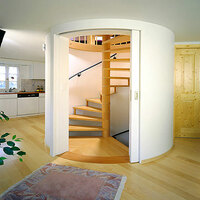 HAWA Media 70 Sliding Wood Door Fitting - image 1