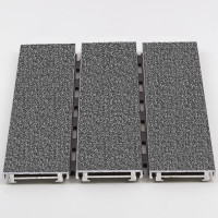 Babcock Davis Roll Up Mat QuietFlex - Aluminum Abrasive Tread