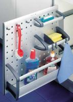 Aluminum Sliding Baskets and Hooks System (3909170)