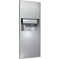 ASI Profile Collection Recessed Automatic Paper Towel Dispenser and Waste Receptacle