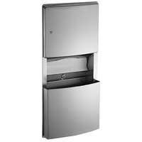 ASI Roval Collection Paper Towel Dispenser and Removable Waste Receptacle 204623