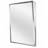 ASI Stainless Steel Framed Fixed Tilt Mirror