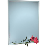 ASI Inter-Lok Stainless Steel Framed Mirror