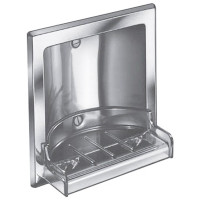 Bradley Recessed Stainless Steel Soap Dish