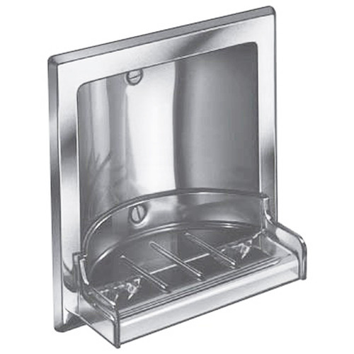 Bradley Recessed Stainless Steel Soap Dish Harbor City Supply