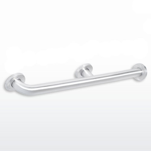 American accessories georgia series toilet compartment grab bar harbor city supply for Commercial bathroom grab bars