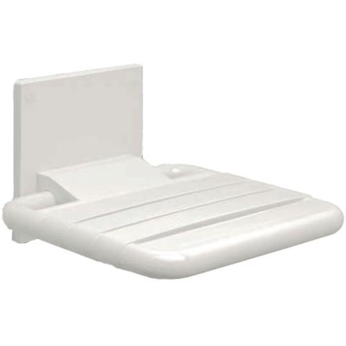 PBA Nylon Wall-Mounted Fold Up Shower Seat - Harbor City Supply