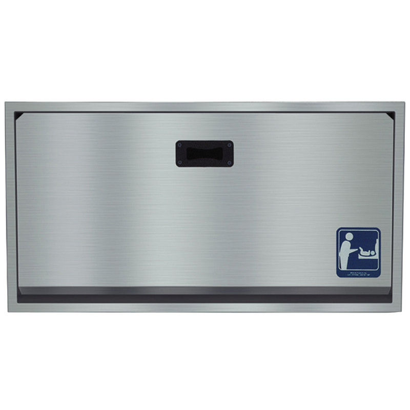 Bradley Stainless Steel Baby Changing Station Harbor City Supply