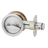 Weiser Welcome Home Series Round Pocket Door Lock