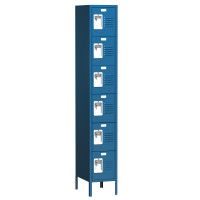 ASI Metal Lockers - Traditional Collection - Six Tier