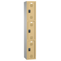 ASI Plastic Lockers - Traditional Collection - Triple Tier