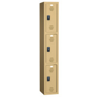 ASI Plastic Lockers - Traditional Plus Collection - Triple Tier
