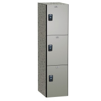 ASI Phenolic Lockers - Traditional Collection - Triple Tier