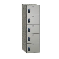 ASI Phenolic Lockers - Traditional Collection - Five Tier