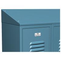 ASI Metal Lockers - Continuous Slope Tops