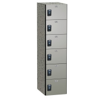 ASI Phenolic Lockers - Traditional Collection - Six Tier