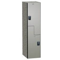 ASI Phenolic Lockers - Traditional Collection - Two Person Z-Lockers