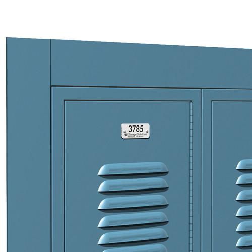 asi metal lockers recess trim - Metal Lockers