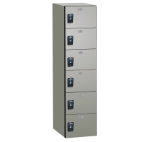 ASI Phenolic Lockers - Traditional Plus Collection - Six Tier