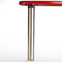 "Isola Leg Single, adjusts from 27-3/4"" up to 36-3/4"" tall"