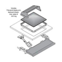 Nova Workstation - Retrofit Kits - Flat Panel Display Oversized