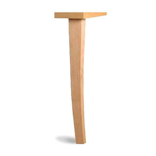 Square Tapered Wood Leg