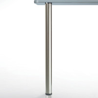 "Glass Top Table Leg, Set, 28-1/2""Tall"