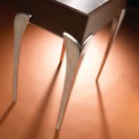 Straight Aluminum Table Leg