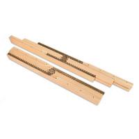 Wood Table Slide for Central Leg Table
