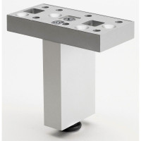 Versatile Aluminum Furniture Foot