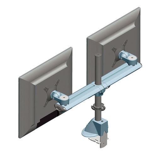 Two Screen Beam Mount Monitor Arm