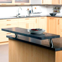 """Round 4-1/4"""" Countertop Supports w/ 30º Angle"""