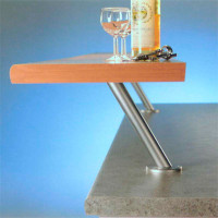 """Round 9-1/16"""" Countertop Support w/ 30º Angle"""