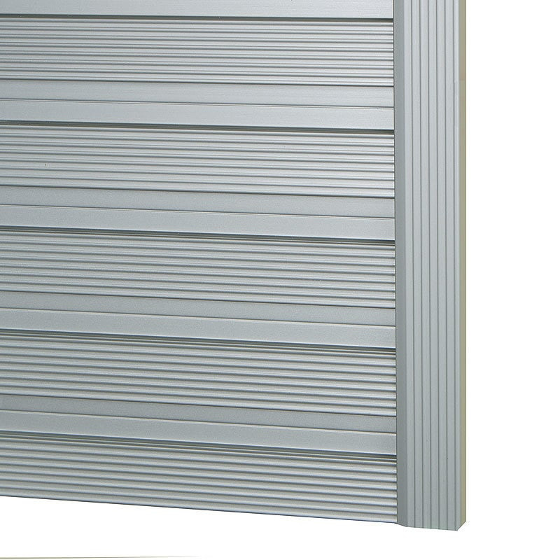 Omni track metal edge profile 96 harbor city supply for Omni garage door