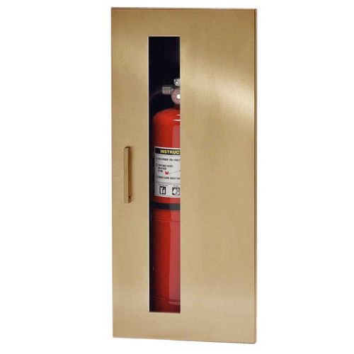 Recessed Fire Extinguisher Cabinet JL Industries Embassy - Jl fire extinguisher cabinets