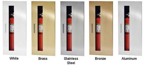 Recessed Fire Extinguisher Cabinet - JL Industries Embassy ...