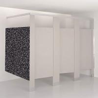 Plastic Laminate Toilet Compartment Panel