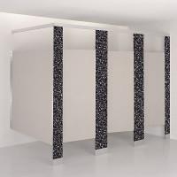 Plastic Laminate Toilet Compartment Pilaster