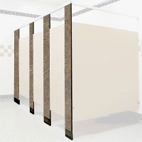 Solid Phenolic Toilet Compartment Pilaster