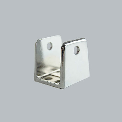 All american partitions 1 u bracket harbor city supply for Bathroom divider hardware