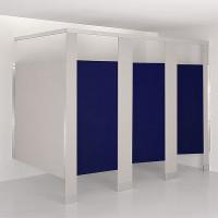 Solid Plastic Toilet Compartment Door