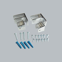 All American Partitions Ending Panel Bracket Kit