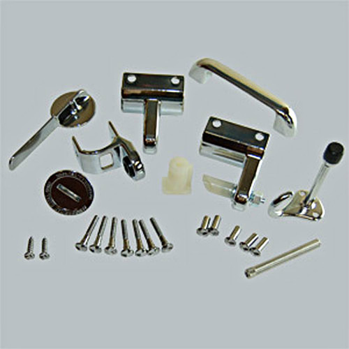 All American Partitions Toilet Compartment ADA Door Hardware Set Harbor Cit