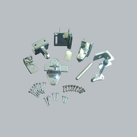 All American Partitions Toilet Compartment Inswing Door Hardware Set
