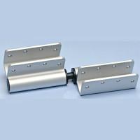 "AMPCO Aluminum 8"" Adjustable Hinge Set for Solid Plastic"