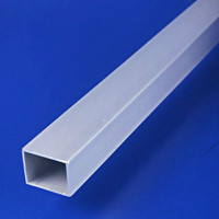 Global Partitions Square Aluminum Headrail Post