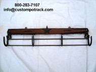 Quail Creek Copper Star Coat Rack Hanger