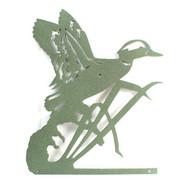 Flying Duck & Cattail