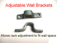 Pot Rack Wall mounting clips or brackets